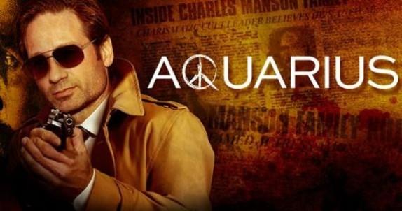 Aquarius serie televisiva statunitense creata da John McNamara per la NBC, con protagonista David Duchovny.  La serie ha debuttato sulla NBC il 28 maggio 2015. Subito dopo la messa in onda del primo episodio, tutti i 13 episodi della serie sono stati resi disponibili sul suo sito web, sull'app della NBC e su altre piattaforme di video-on-demand, per un periodo di quattro settimane. Gli episodi sono inoltre stati trasmessi regolarmente in televisione ogni settimana.  Il 26 giugno 2015, la NBC ha rinnovato la serie per una seconda stagione.